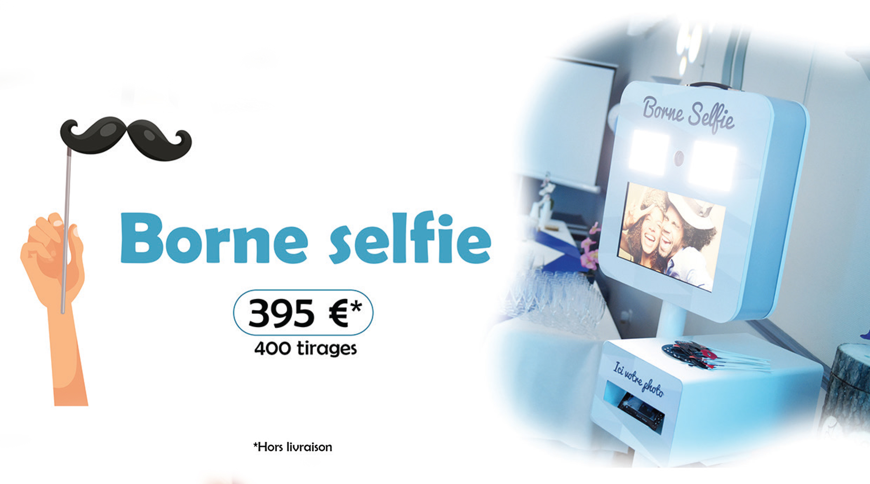 Borne selfie oise